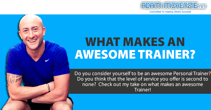 What Makes an Awesome Trainer?